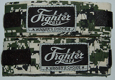 Boxing Hand Wraps Elastic - Camo 3.5 Meter long - Inner Gloves Bandages