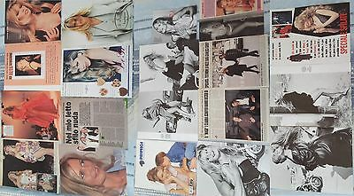 CLAUDIA SCHIFFER 1990-1993_italian clippings/advertising_articoli & immagini