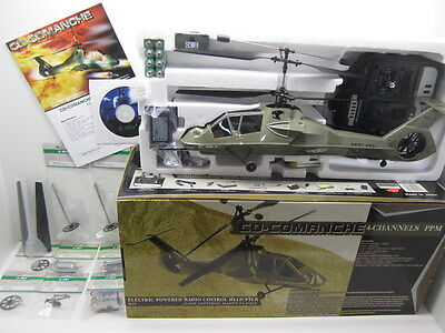 E-SKY CO-COMANCHE Electric Powered Radio Control Helicopter 4ch NEW HALF PRICE!