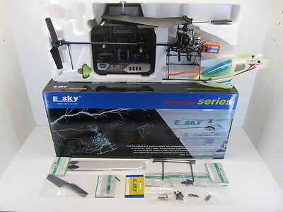 E-SKY Honey Bee RTF Electric Powered Radio Control Helicopter 4ch + spare parts