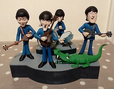 The Beatles Animated Figures Deluxe set MISB 2005 McFarlane Toys