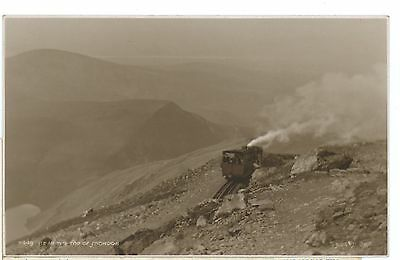 WALES-TRAIN NR TOP OF SNOWDON-RPPC,UNPOSTED .cw428