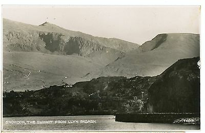 WALES-SUMMIT OF SNOWDON-RPPC,UNPOSTED .cw402