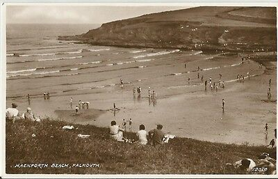 Postcard - Maenporth Beach, Falmouth, Cornwall