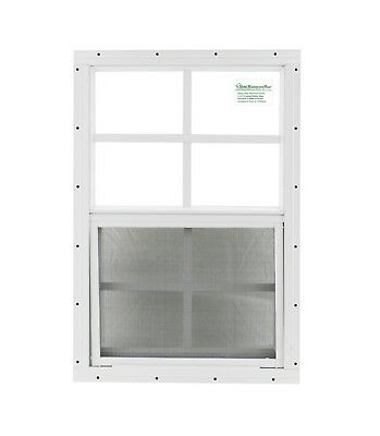 16 x 24 Shed Window SAFETY GLASS Garage Playhouse Coops DeerTree Stand Window
