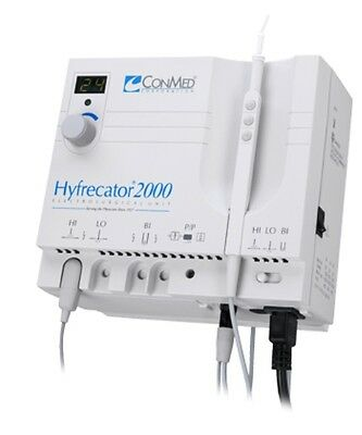 Refurbished by ConMed Hyfrecator 2000 with New Autoclavable Reusable Handpiece