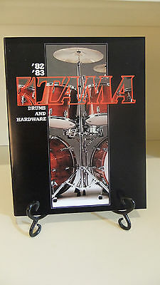 NEW '82-'83 Tama Drums and Hardware Catalog