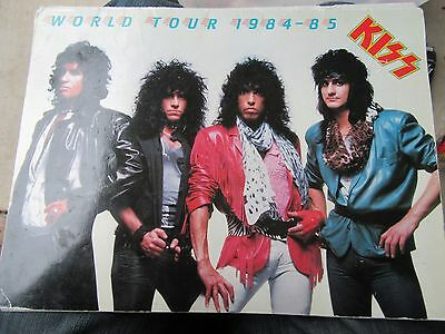 Kiss 1984-1985 World Tour Book w/ Mark St. John