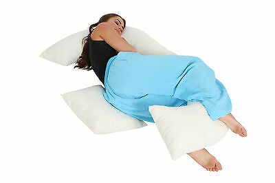 Big E Pillow Maternity Support Pillow/ Full Length Body Pillow