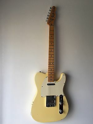 Fender Telecaster 1973 Blonde Made In USA Avec Coffre
