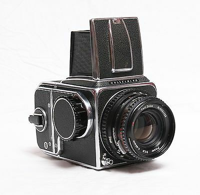 Hasselblad 500CM with A12 Back and 80mm Planar Lens