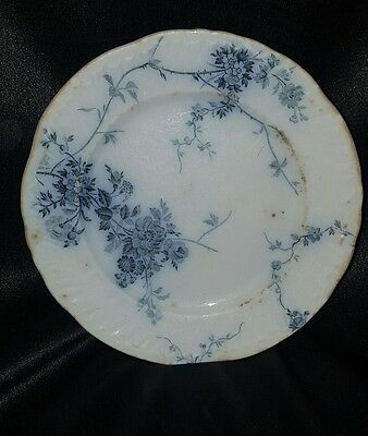 "vtg ROYAL SEMI PORCELAIN 7"" bread butter plate PRINCESS pattern BOOTHS ENGALND"