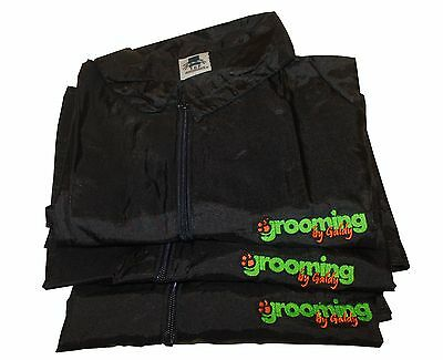 Top Performance GROOMING JACKETS Free Logo Embroidery