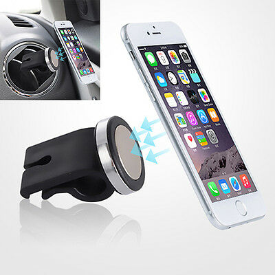 Universal Car Magnetic Air Vent Mount Holder Stand - iPhone 6 Plus Samsung (INT)