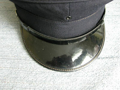 Vintage 1920-1940s Rosyln Highlands Fire Department Hat Hughes & Thomas Tailors