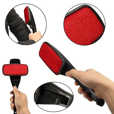 Lint Brush Fabric Pet Hair Remover Fluff Dust Cleaning Rotating Clothes Sofa Bed