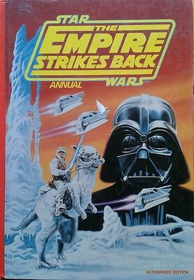 Vintage Collectable Empire Strikes Back 1980 Star Wars Annual