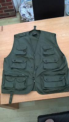 Mil-tec fishing/hunting vest - Olive XL