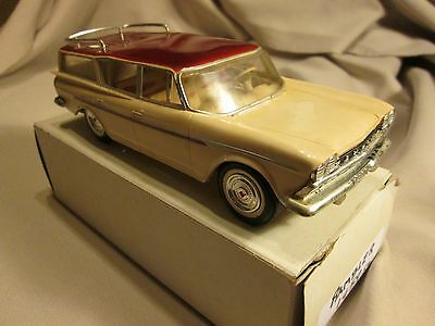 Rambler 1959 Station Wagon Promo Dealer Johan Model Auto Car NR