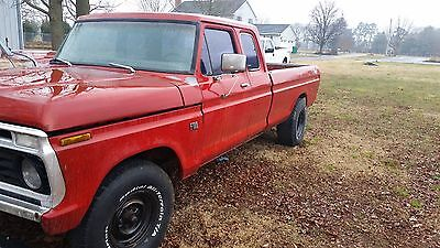 1974 Ford F-100  1974 Ford F100 Supercab 2wd original paint no engine or transmission roller