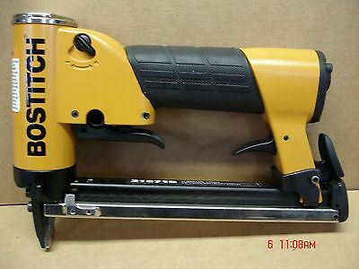 Bostitch TU 216-71 Fine Wire upholstery Stapler 3/8 inch Crown New