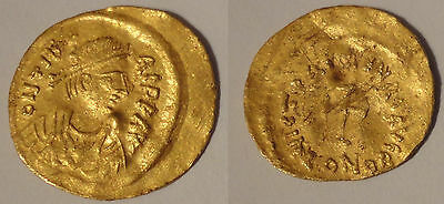 Maurice Tibere Tremissis or gold - Maurice Tiberius - Constantinople