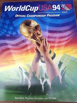 World Cup USA official championship programme