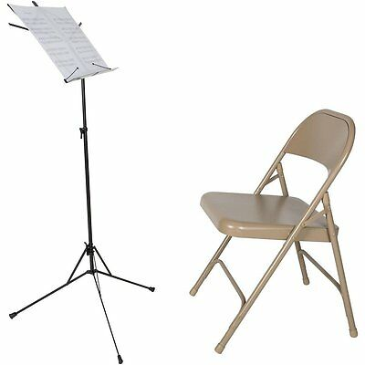 NEW Lectern Sheet Music Book Stand Portable Adjustable Folding Stage Black Metal