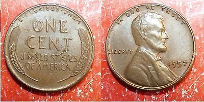 1 ONE CENT USA Etats-Unis 1957 Lincoln penny