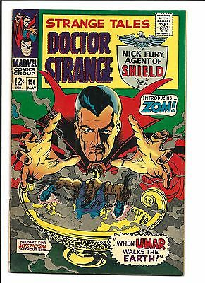 Strange Tales # 156 (Steranko Art/script, Cents, May 1967), Vf-