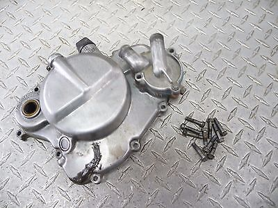 Kawasaki KX80 KX 80 Clutch Cover with Hardware and Water Pump #251