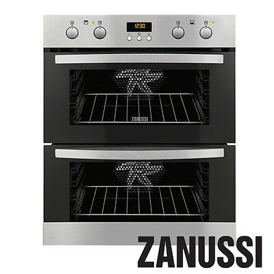 Zanussi Multi Function Double Oven - Stainless Steel - ZOF35702XK - RRP: ?720.00
