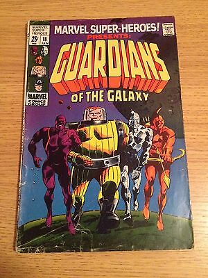 Marvel Super-Heroes #18  1st Guardians Of The Galaxy Appearance
