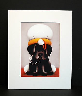 """Doug Hyde """" LOVE LINKS US """" Brand New Mounted Art Print P&P INCLUDED"""