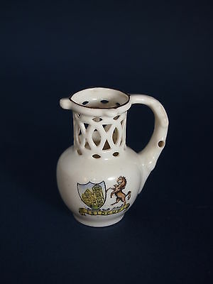 Crested China Puzzle Jug - Sidcup Crest