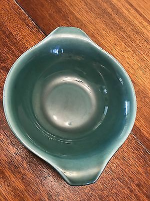 Russel Wright American Modern Seafoam Green Large Serving Bowl Lug Handle