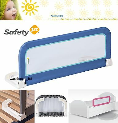 Safety 1st Bed Guard Portable Bedrail Compact Travel Fold Bed Rail Unisex New