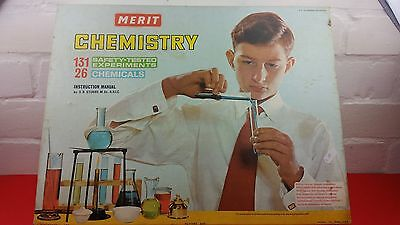 Merit Chemistry Set 3a plus lot of extras