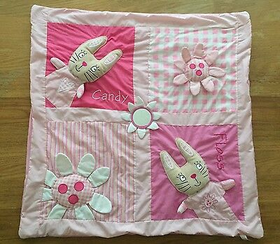 Candy Floss Baby Girls Pink Activity Playmat