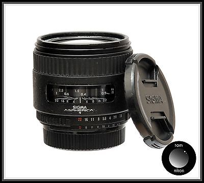 Sigma high speed wide 28mm F/1.8 lens nikon fit