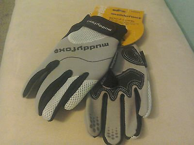 mens muddy fox cycle gloves size med