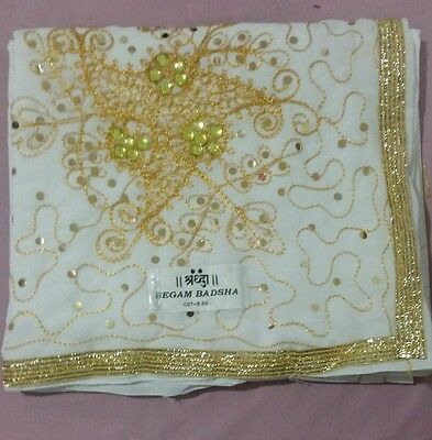 Saree, Indian Fashion, Saree gold design-Super Fast delivery  *SALES*
