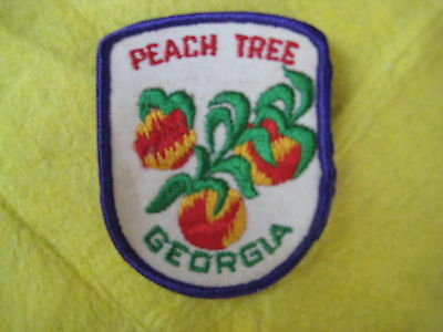 """Vintage State Of Georgia Patch 2 5/8"""" X 3 1/4"""""""