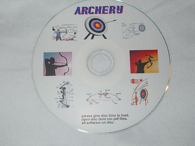 Archery Tutorials Handbooks Arrows Compound Bow Manuals Guides. Cd