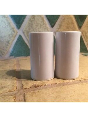 Vintage Retro Salt And Pepper Shakers Beige
