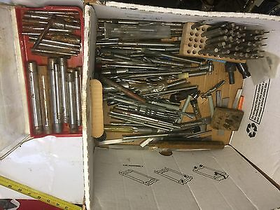 machinist Lot Of Everything For Lathe Mill