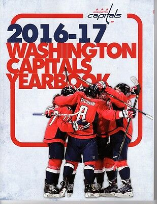 2016 2017 Washington Capitals Yearbook Program Stanley Cup Champions Ovechkin