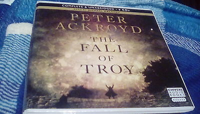 The Fall Of Troy by Peter Ackroyd 6cd audio book.