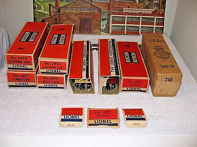 Lionel Set#x-610Naa General Retailers 1958 Only Rare 248 Locomotive & Accessorie