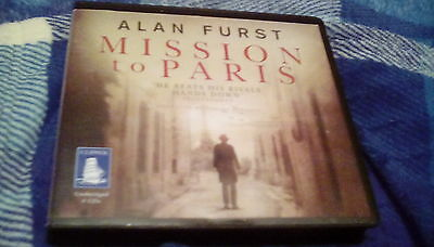 Mission to Paris by Alan FURST 8cd audio book.